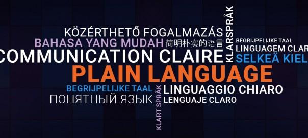 közérthető fogalmazás különböző nyelveken